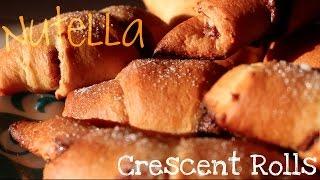 Recipe | Easy And Yummy Nutella Crescent Rolls