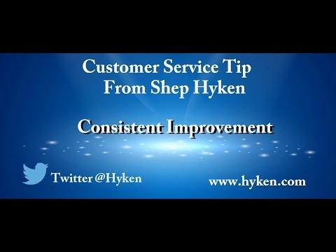 Customer Service Expert Tip: Consistent Improvement