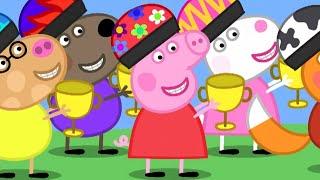Peppa Pig Full Episodes  Peppa Pig, The Winner  Kids Videos