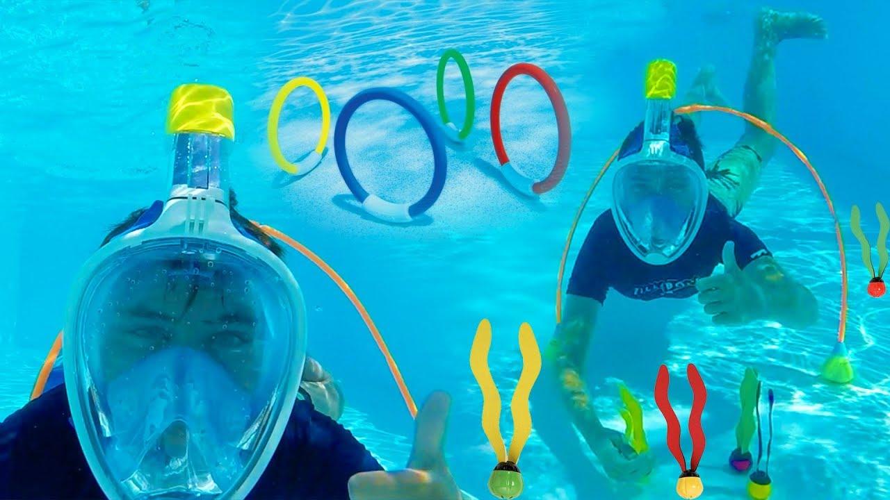 Challenges d fis piscine en corse youtube for Swan et neo piscine