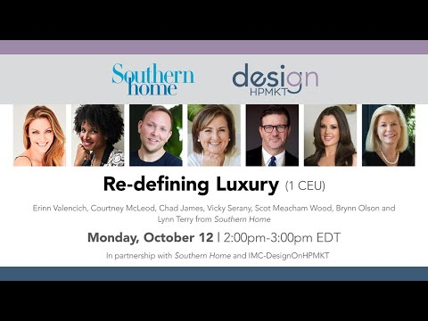 Re-defining Luxury