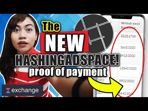EARN BY VIEWING ADS | THE NEW HASHINGADSPACE : ASIMI PRICE GROWTH! & WITHDRAWAL PROCEDURE UPDATE