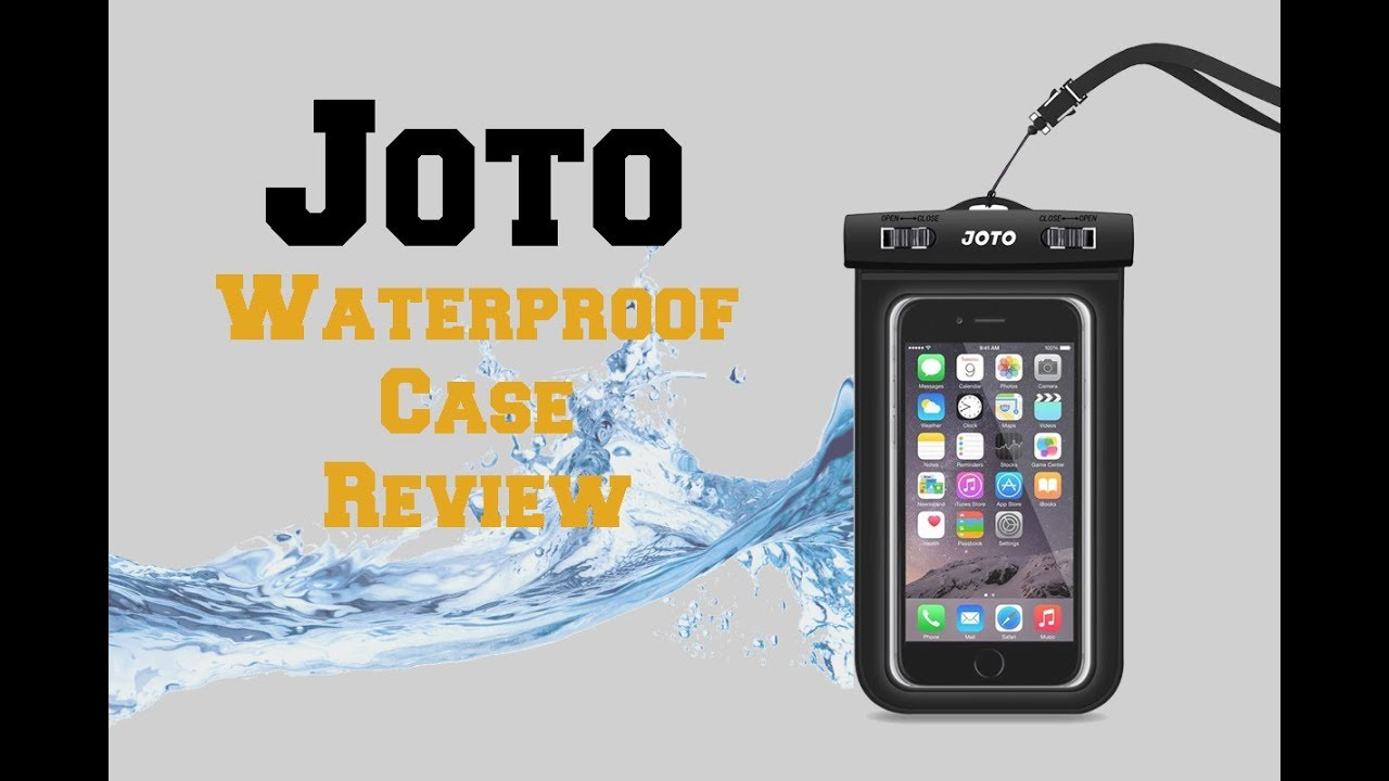 quality design 4ae0f 7548c Tech Review: Joto Waterproof Phone Case