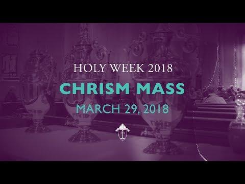 Chrism Mass 2018