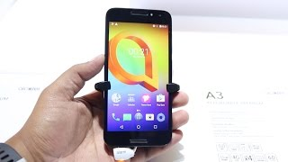 Alcatel A3 Hands on - Affordable Premium Smartphone? | Hindi