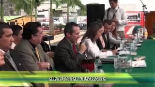 Elección del Vicealcalde del Cantón El Empalme 2014