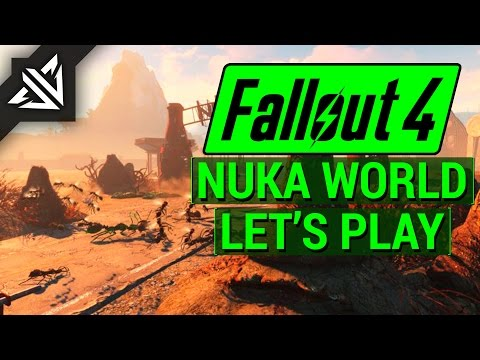 FALLOUT 4: NUKA WORLD Let's Play Part 3 - KIDDIE KINGDOM! (PC Gameplay Walkthrough)