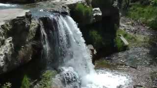 Лермонтовский водопад в Кисловодске