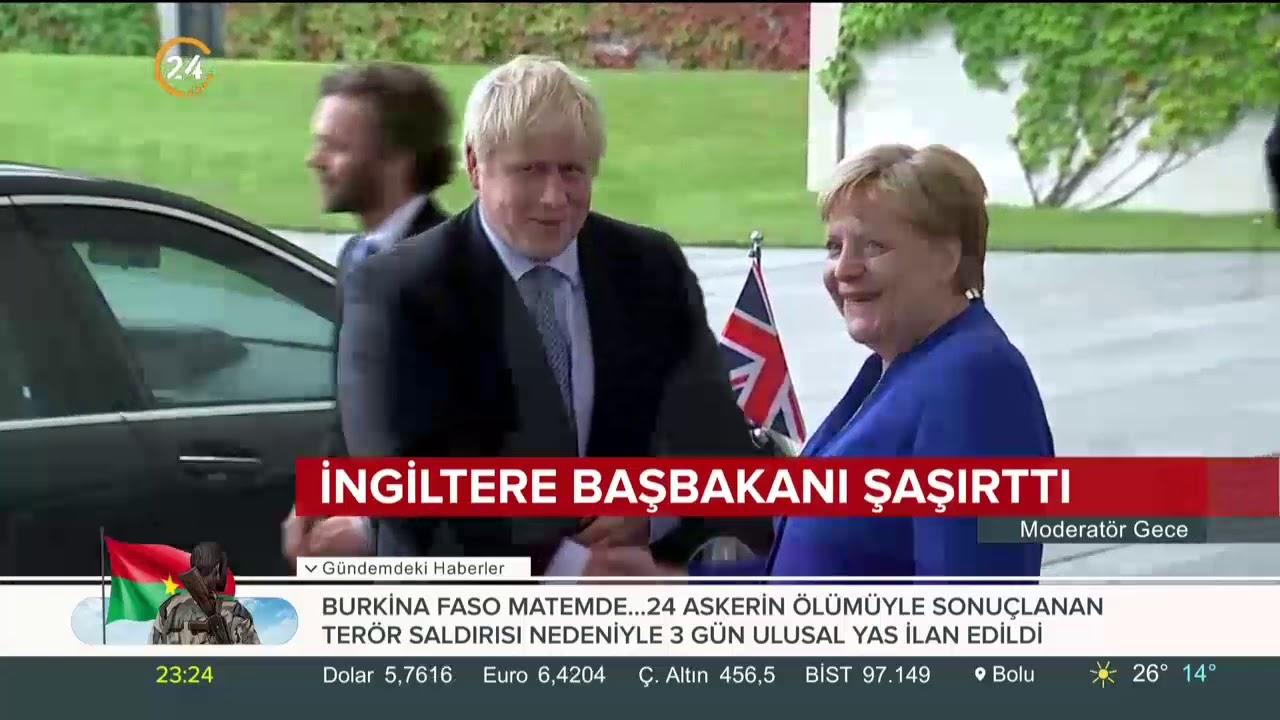 İngiltere yeni Başbakanı Boris Johnson'ın ayak uzatma şekli olay oldu