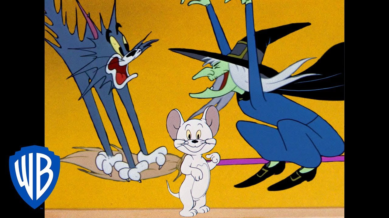 Tom & Jerry   Super Scary!   Classic Cartoon Compilation   WB Kids