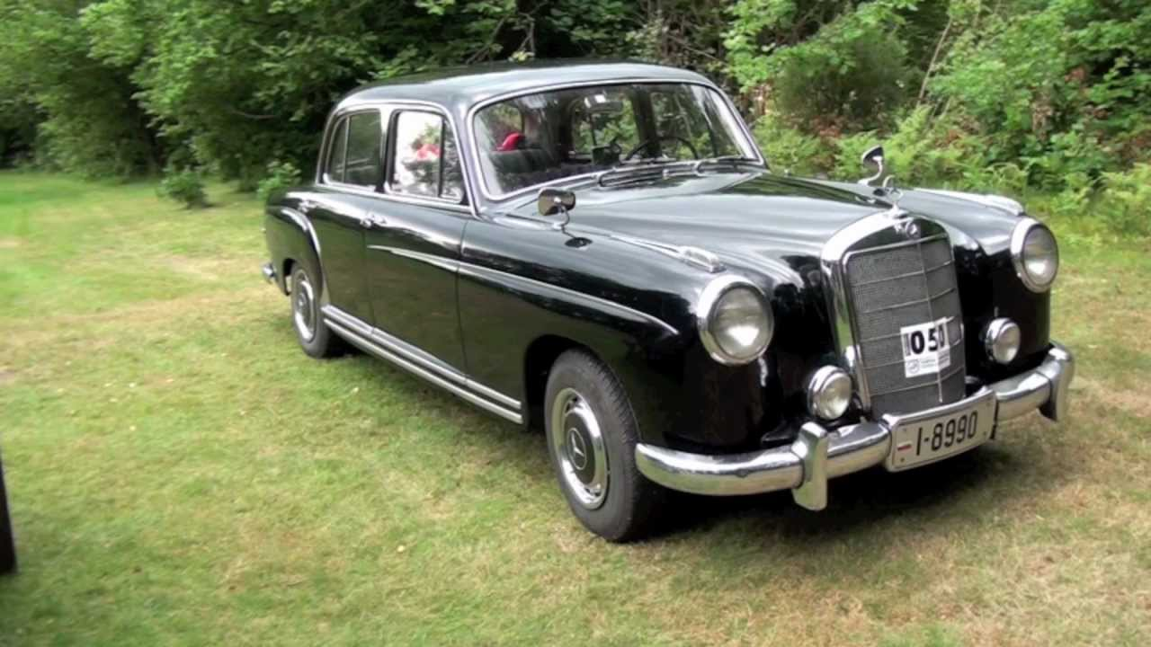 My 1957 mercedes benz 220 s youtube for Mercedes benz 220s