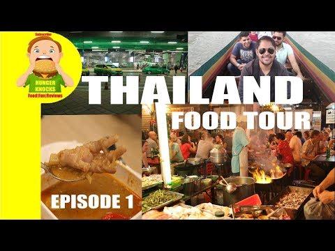 Thailand food   Bangkok Street Food   Hunger Knocks Vlog