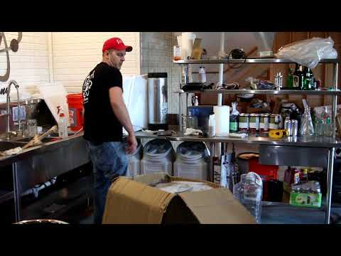 Reaction Brewing Company unboxing Colorado Brewing Systems dual 50