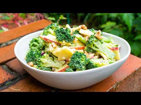 Knackiger Brokkolisalat | Der Bio Koch