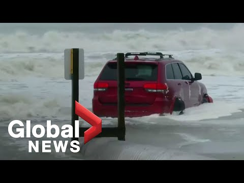 Hurricane Dorian makes landfall in South Carolina