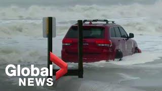 Hurricane Dorian makes landfall in South Carolina