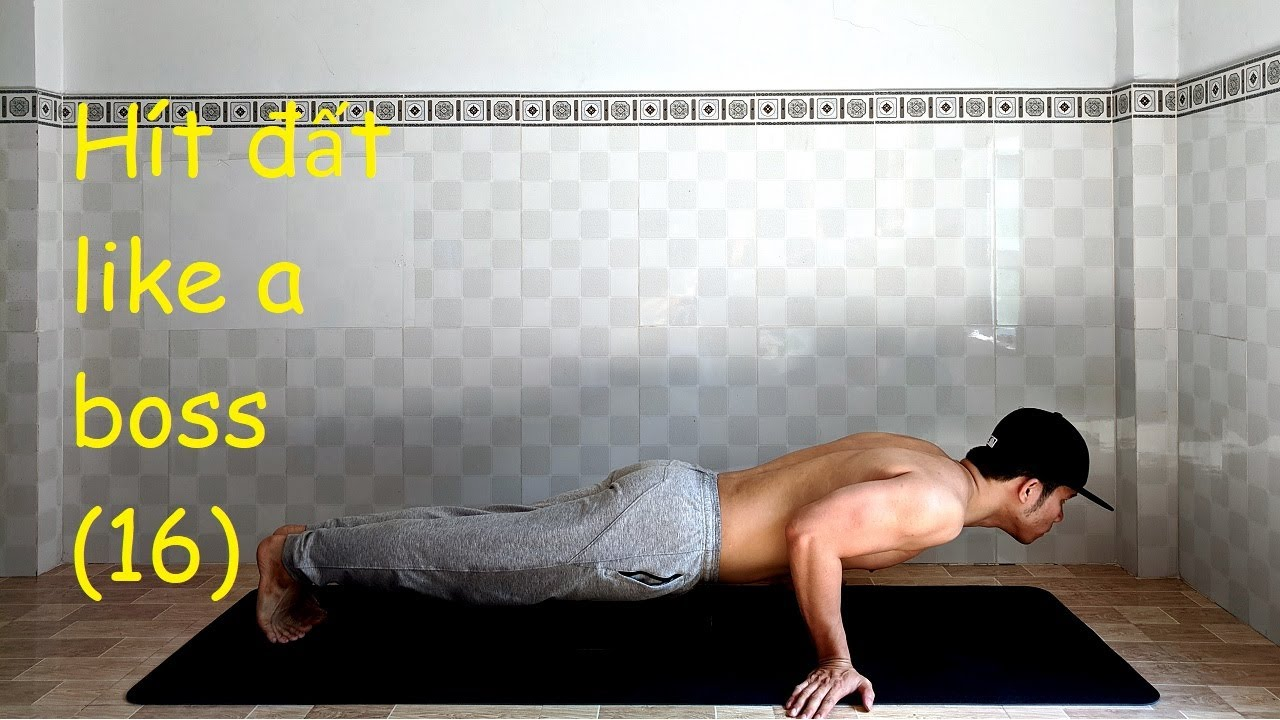 Home Workout No Equipment - The Perfect Push Up at Home You can do (16)