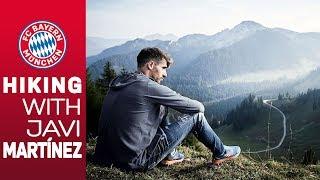 Hiking w/ Javi Martínez in the mountains of Bavaria