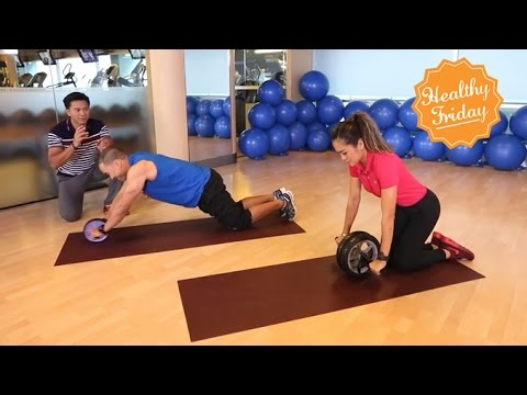 Healthy Friday [by Mahidol] ลูกกลิ้ง...บริหารแกนลำตัว (2/2) แกนลำตัวที่แข็งแรง Roller Slide ช่วยได้