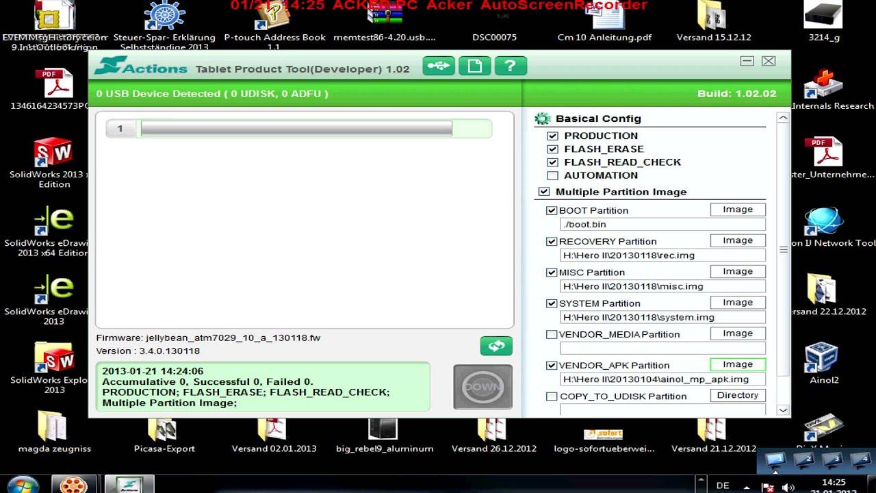 Ainol ATM7029 Firmwareupdate