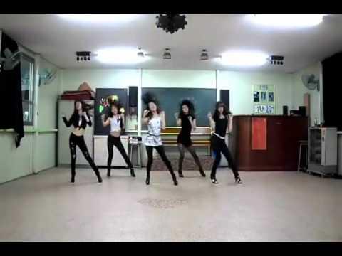 4MINUTE HUH KOREAN HIGH SCHOOL GIRLS DANCE COVER