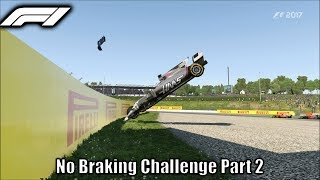 F1 2017 No Braking Challenge vs 0% AI Part 2