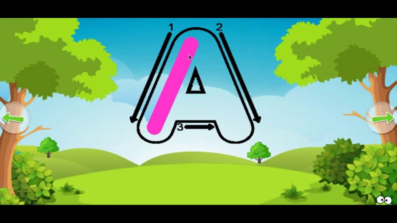 ABC Coloring Games for Kids - YouTube