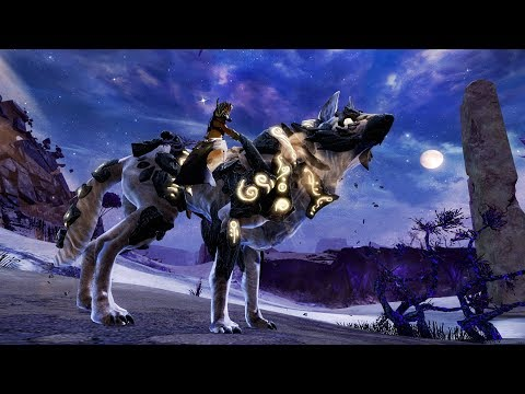 Guild Wars 2 Path of Fire - Das vierte Reittier-Rennen - Ödland
