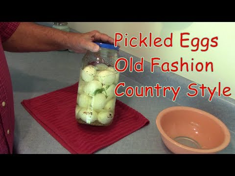 Pickled Eggs Old Fashion Country Style