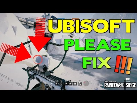 UBISOFT PLEASE FIX THIS - Rainbow Six Siege: Ranked Highlight (Funny Moment)