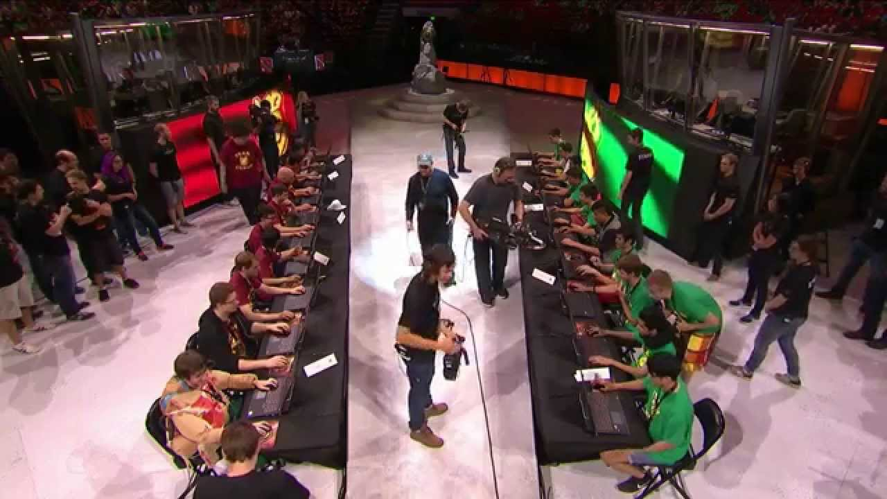 ti5 all star game the international 2015 main event day 4 youtube