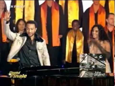 John Legend - As (Stevie Wonder Cover) (Live At Star Academy 09-12-06) ft Cynthia Brown