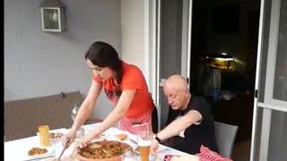 عشية مع ضيفتي 🤗 درت خبز الشاباطا الايطالي😍أكلات مغربية وراجلي كيدوز الطاجين 😂😂😂