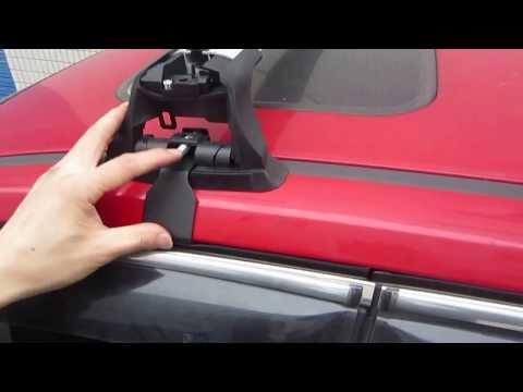 Roof Rack Crossbars Installation for Ford Focus Hatchback(Front)