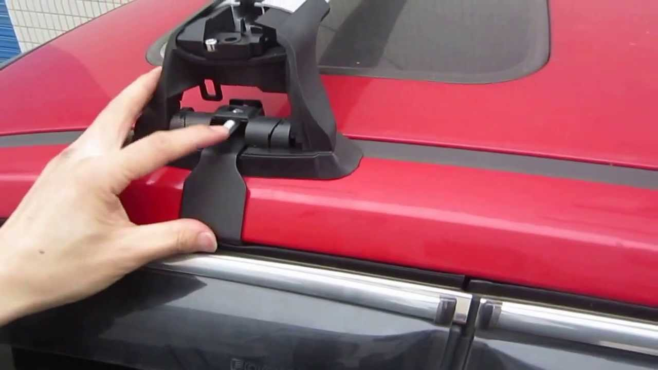 Roof Rack Crossbars Installation For Ford Focus Hatchbackfront Youtube