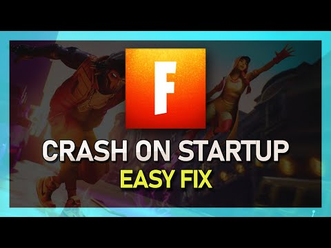 Fortnite Not Launching & Crash On Startup FIX! Season X - Windows 10