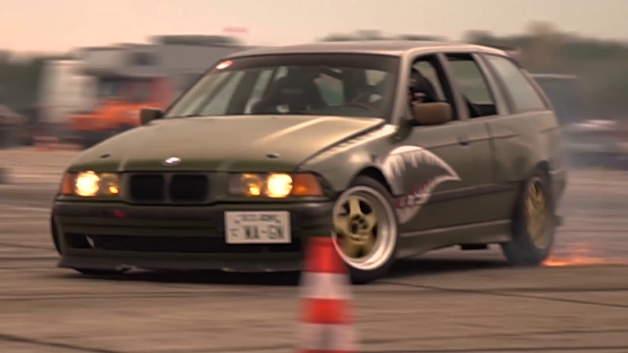 bmw e36 touring drift low budget bmw e36 drift youtube. Black Bedroom Furniture Sets. Home Design Ideas