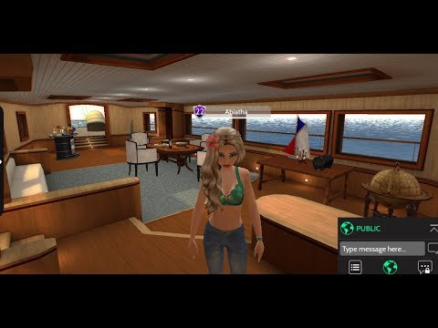 Avakin Life - Dream Adventure yacht