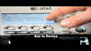 Music On Hold Installation On The AT&T SB67138 Syn-J Telephone System