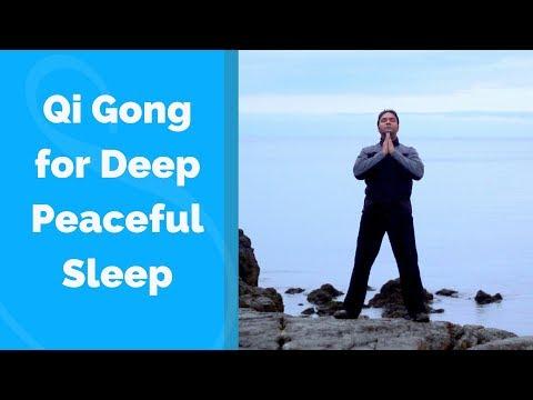 Qigong for Sleep -Deep and Peaceful  w/ Jeffrey Chand