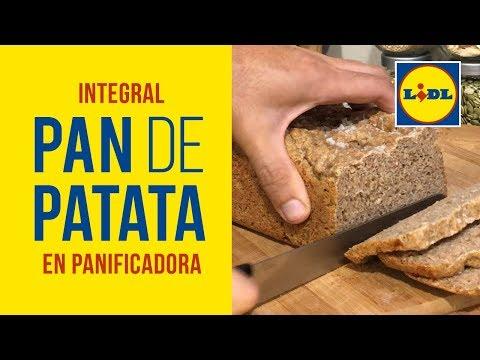 Pan Integral de Patata en Panificadora