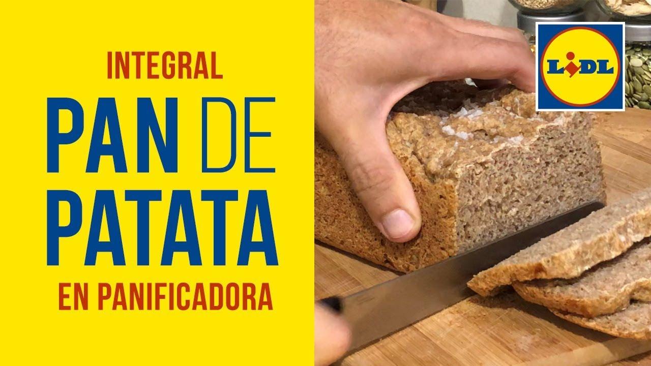Pan Integral de Patata 🍞🥔 en Panificadora Lidl y Moulinex - Esponjoso y Tierno - Realfood