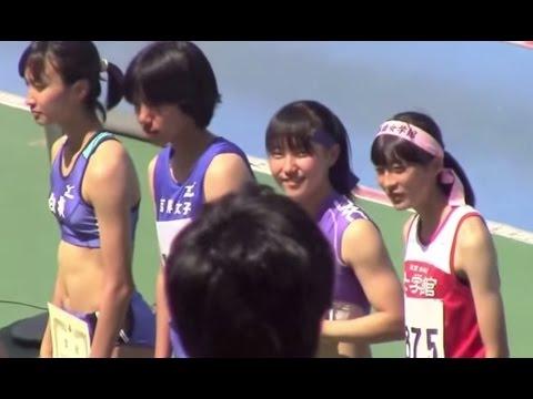 2014東京都高校陸上 女子100mH決勝 表彰式 鳴川亜美 柳下美佐子