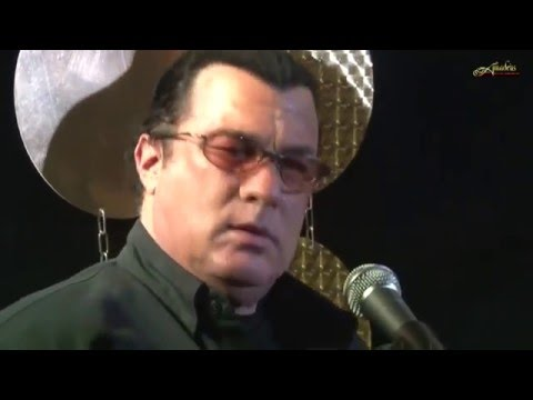 STEVEN SEAGAL EPIC GUITAR PLAYING