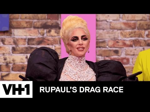 Lady Gaga Caught in a Drag RUmance | RuPaul's Drag Race Season 9 | Logo