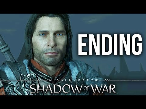 MIDDLE EARTH SHADOW OF WAR ENDING Gameplay Walkthrough Part 21 (Full Game)