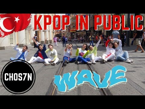 [KPOP IN PUBLIC TURKEY] ATEEZ(에이티즈) - WAVE Dance Cover by CHOS7N