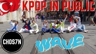 [KPOP IN PUBLIC TURKEY] ATEEZ(에이티즈) - WAVE Dance Cover by CHOS7N