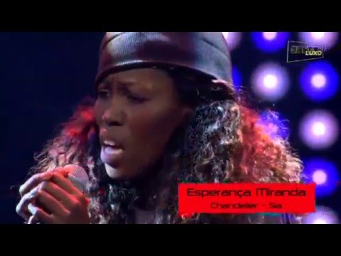 """The voice """"Chandelier (Sia)"""" - The Voice Angola 2015/2016"""