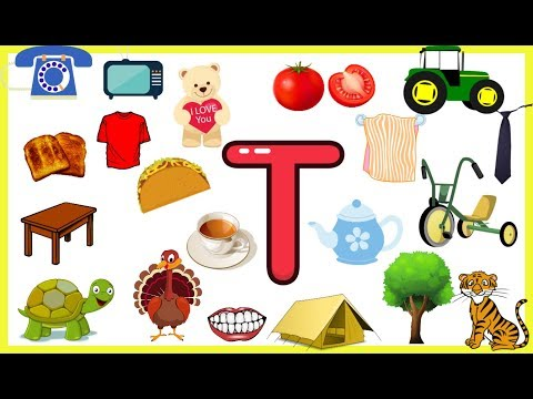 Letter T-Things that begins with alphabet T-words starts with T ...
